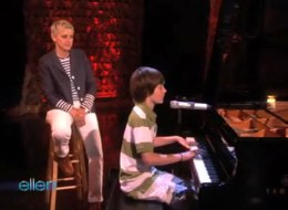Ellen Signs YouTube Sensation Greyson Chance to New Record Label